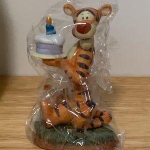 "Disney Tigger Porcelain Figure 4.5"" NIB"